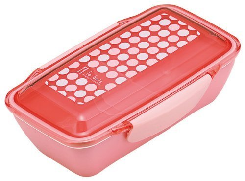 Le bore dot dome lunch box Rose ()