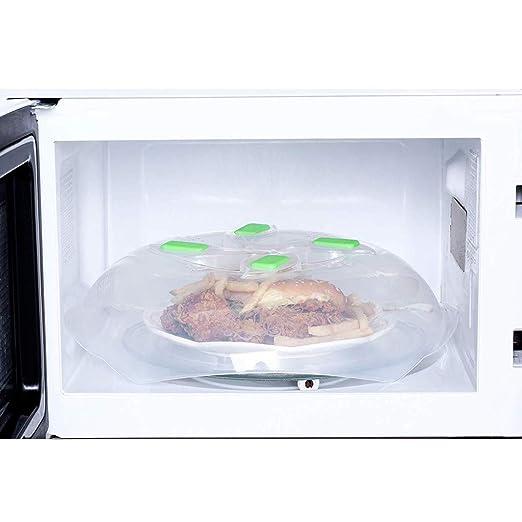 YESjikil - Tapa magnética para placa de microondas con rejillas de ...