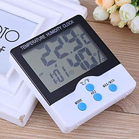 Alarm Clocks - Temperature Tester Lcd Digital Home ...