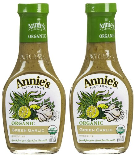Annie's Homegrown Organic Green Garlic Dressing (No Vinegar), 8 oz, 2  pk Vinegar Free Dressing