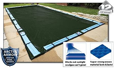 20x40 Rectangle 15 YR WARRANTY Inground Swimming Pool Winter Cover