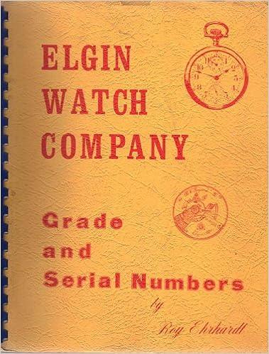 elgin serial numbers and grade