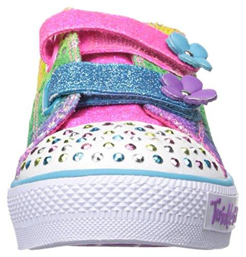 Skechers Kids Shuffles Lil' Rainbow (Toddler/Little Kid), Multi, 10 M US Toddler