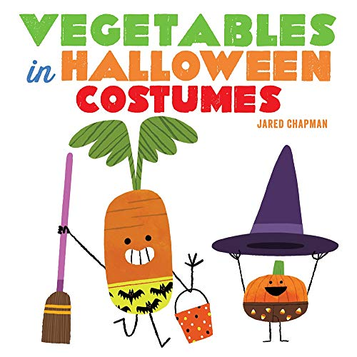 Book Cover: Vegetables in Halloween Costumes
