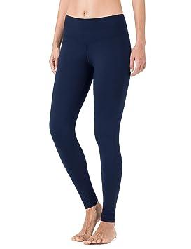 NAVISKIN Pantalones Yoga Forro Polar Mujer Pilates Mallas Deportivas Leggings Largos Bolsillo Elástico Transpirable Training Running Fitness: Amazon.es: ...