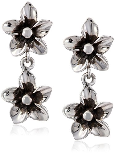 Zina Sterling Silver Double Fl