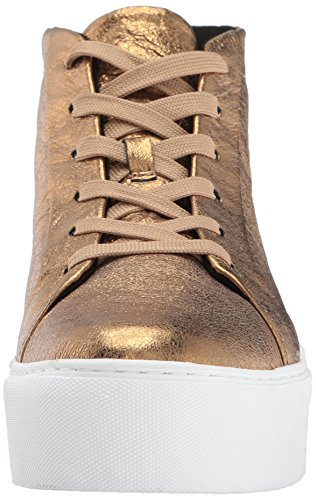 Women's Cole Lace Platform Kenneth High up Gold Leather New Top York Sneaker Janette Fashion RqnfAtw