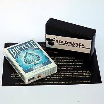 SOLOMAGIA Bicycle - Frost - Tarjeta Juegos - Trucos Magia y la ...
