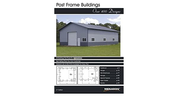Post Frame Buildings: Over 400 Designs (2nd edition): Menards ...