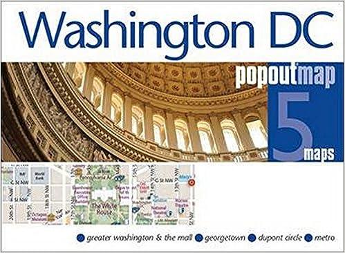 Washington DC PopOut Map (PopOut Maps): PopOut Maps: 9781910218099 ...
