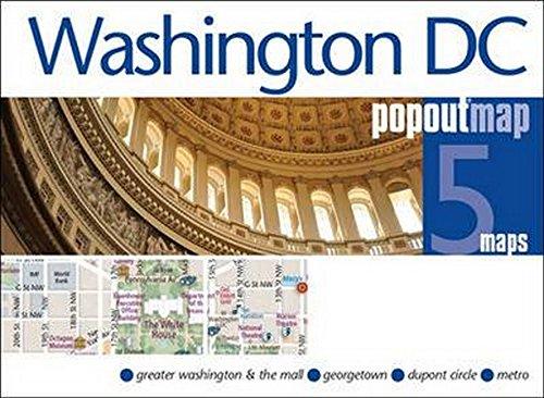 Washington DC PopOut Map (PopOut Maps)...