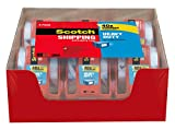 #1: Scotch Heavy Duty Shipping Packaging Tape, 1.88 inches x 800 inches, 6 Rolls with Dispenser, 1.5 inch Core (142-6)