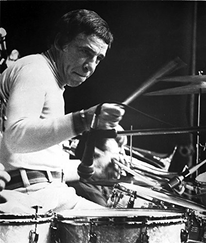 Buddy Rich playing the drums Photo Print (8 x 10) ()