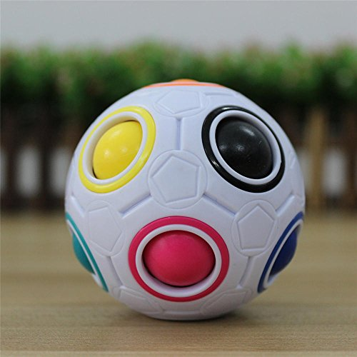 [GoodPlay Yongjun YJ Rainbow Magic Ball Speed Cube Puzzle(+one cube bag)] (Magic Ball 1)