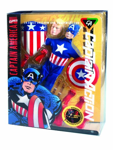 Captain Action Costume (Round 2 Captain Action Deluxe Captain America Costume Set)