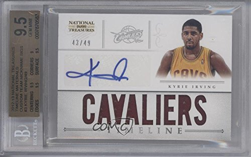 ef35edf62f5 Amazon.com  Kyrie Irving Graded BGS 9.5 GEM MINT  43 49 (Basketball ...