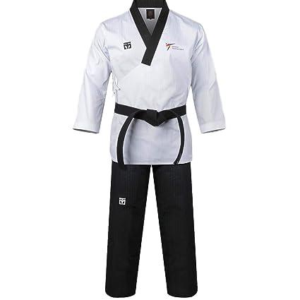 Mooto Corea Taekwondo Poomsae Uniforme WT Logo Taebek Dan MMA ...