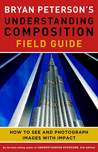 "Learn to ""see"" more compelling images with this on-the-go field guide from Bryan Peterson!  What makes an image amazing? Believe it or not, it is not about the content. What makes a photo compelling is the arrangement of that content—in other words, ..."