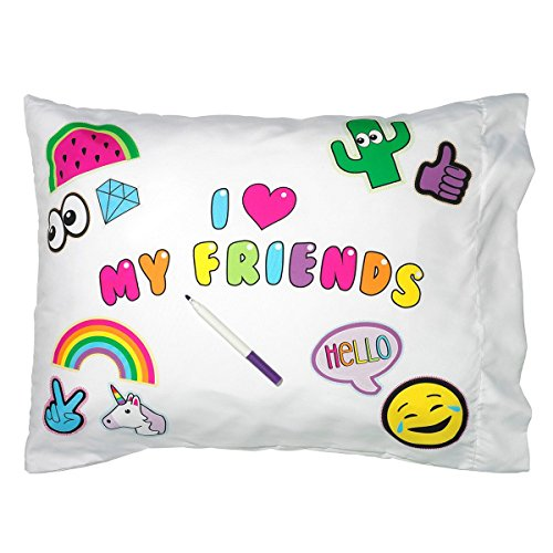 - 3C4G I I Heart My Friends Autograph Pillowcase