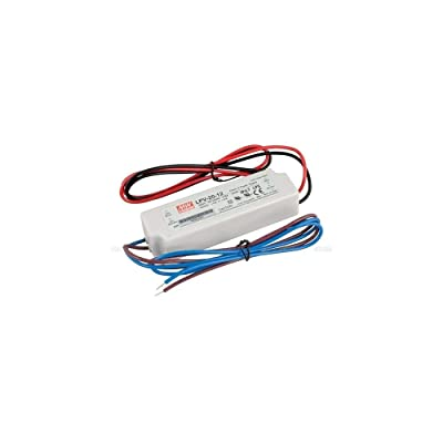 """MEAN WELL LPV-20-12 AC to DC Power Supply, Enclosed LED Single Output, 12V, 1.67 Amp, 20W, 1.5"""" - 2102596: Industrial & Scientific"""