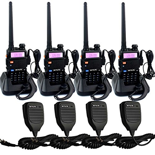 Retevis RT-5R Walkie Talkies for Adults Long