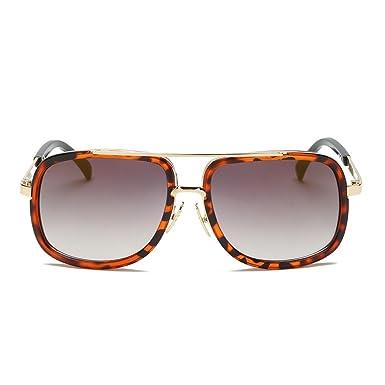 LAND-FOX Gafas de sol clásicas de la marca del marco ...