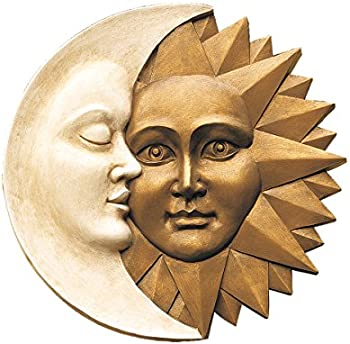 Harmony Sun and Moon Wall Sculpture