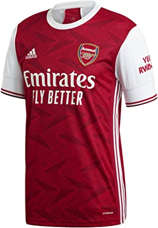 adidas Arsenal FC Primera Equipación 2020-2021 Niño, Camiseta, Active Maroon-White: Amazon.es: Ropa y accesorios