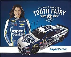 AUTOGRAPHED 2016 Danica Patrick #10 Aspen Dental Racing