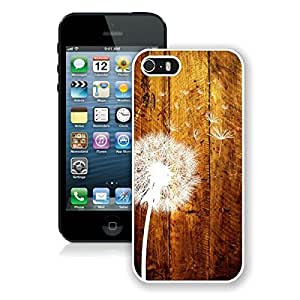 BINGO best quality Dandelion iPhone 5 5S Case White Cover