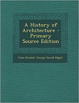 Book History of Architecture