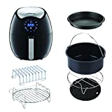 Cheap GoWISE USA 3.7-Quart 7-in-1 Air Fryer with 6 pc. Accessory Set