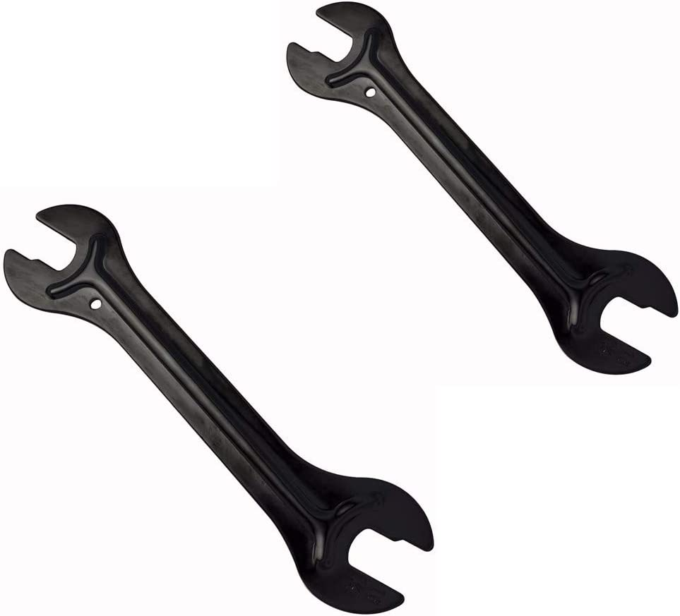 Bicycle Cone Wrench Repair Tools Set 10 in 1 SILVER UNWUS