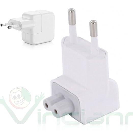 2 opinioni per Adattatore presa europea 2 poli spina EU per alimentatore Apple USB 10W 12W mac