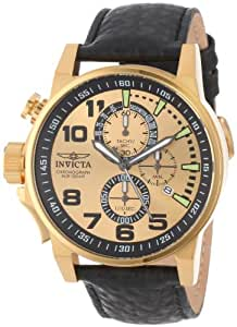 Invicta 14475 I-Force Reloj Análogo para Hombre, 46 mm, oro/negro