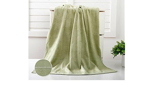 Fibra de bambú toalla chica parejas adultas suave falda de baño de tela toalla grande Pecho Super Absorbentes de natación de verano una toalla de baño solo, ...