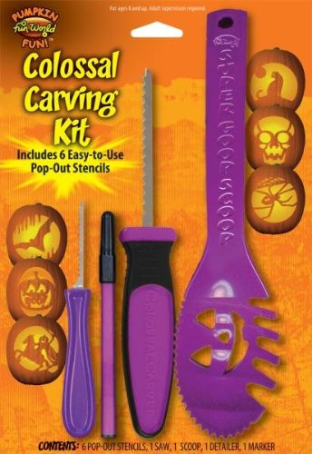 Colossal Carving Kit - Colors May (Apple Carving Halloween)