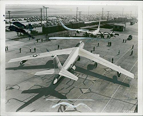- Vintage photo of Boeing B-47 Stratojet Strategic bomber
