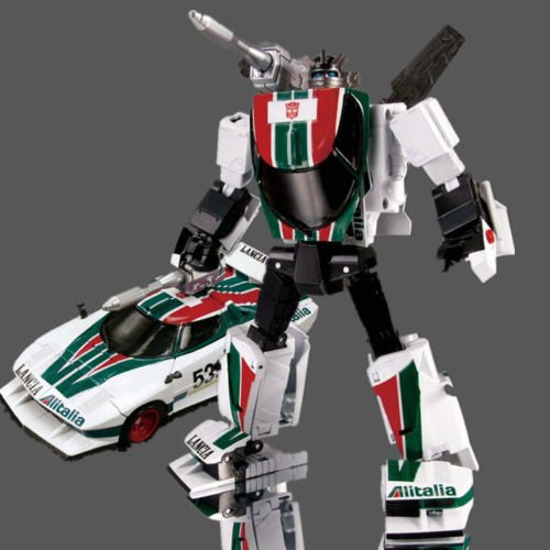 Autobot Blaster Costume (gg Trans formers Masterpiece MP-20 WHEELjACK figure Lancia Stratos TUrBo)