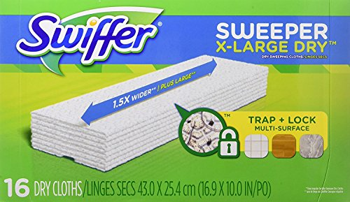 Swiffer Sweeper X-Large Dry Sweeping Cloths Refill - 16 ct - 2 pk