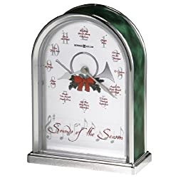 Howard Miller 645-687 Sounds of the Season Christmas Clock by
