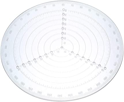 Center Finder Compass for Wood Turners Lathe Work Drawing Circles Diameter 8/'/'
