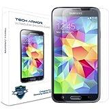 Samsung Galaxy S5 Glass Screen Protector, Tech Armor Premium Ballistic Glass [1-pack]
