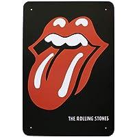 The Rolling Stones Tongue Carteles de Chapa Póster