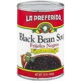 La Preferida Black Bean Soup, 16 OZ (Pack - 24)