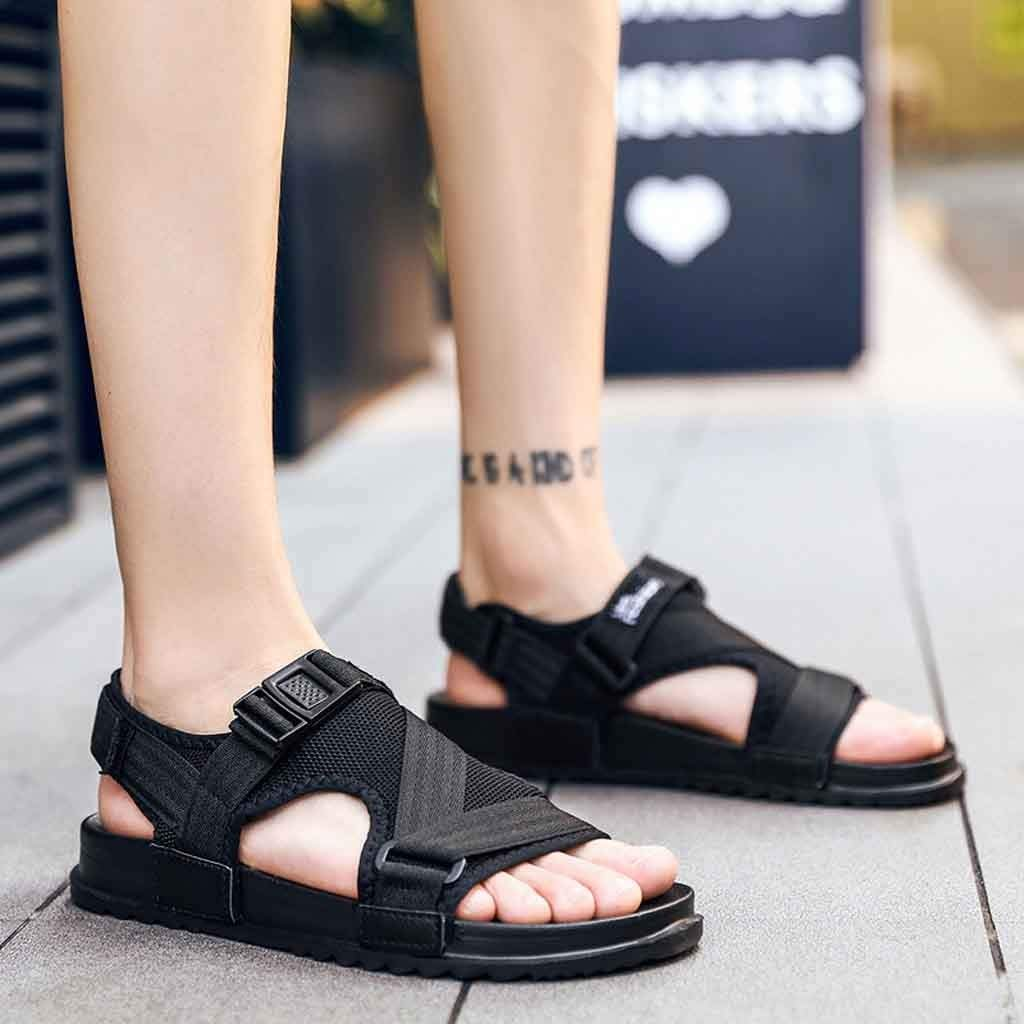 Moonker Women 2019 Summer New Sandals,Fashion Unisex Beach Sandals Gladiator Casual Shoes Flip Flops Big Size Slippers