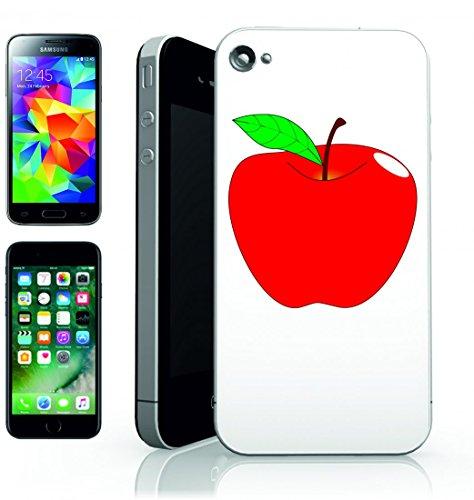 Smartphone Case Apple Rosso di reif della Foglia della Frutta di Vita Medio di sano-dolce fresco gustoso della salute della Frische succoso per Apple Iphone 4/4S, 5/5S, 5C, 6/6S, 7& Samsung Galaxy
