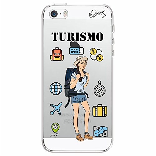 Capa Personalizada para Apple iPhone 5s - TURISMO FEM - Quark