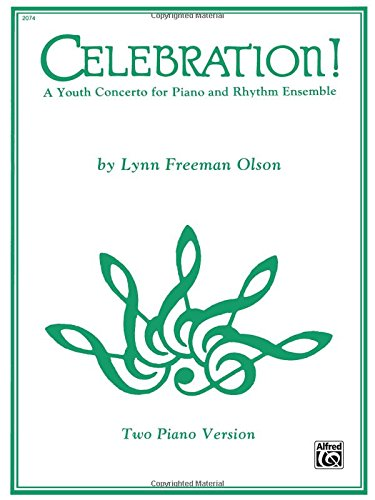 Celebration!: A Youth Concerto for Piano and Rhythm Ensemble, Sheet