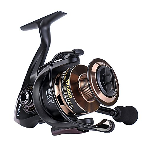 Gosccess Saltwater Fishing Reels Stainless Steel Spinning Reels Left/Right Interchangeable Fishing Reel (4000)